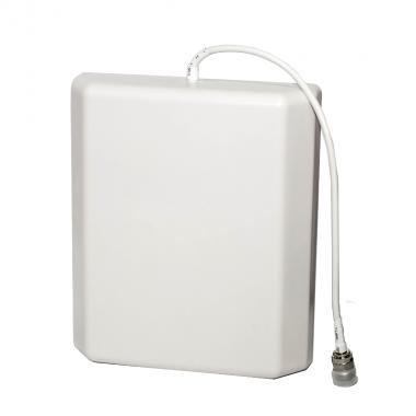 Панельная антенна ICS-IPA-10D для внутреннего и наружного применения работает в диапазонах GSM, EDGE, 3G