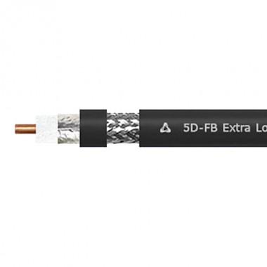 Высокочастотный усовершенствованный коаксиальный кабель RG 5D-FB PVC
