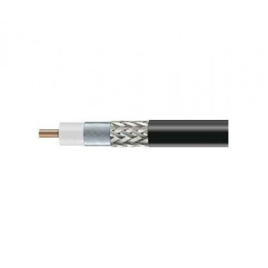 Высокочастотный коаксиальный кабель RG8-CCA с низким уровнем затуханий