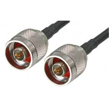Коаксиальный кабель RG 5D-FB PVC длиной 0,25 м с разъемами N-типа