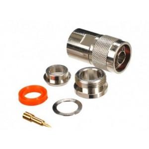 Разъем N-типа под кабель RG8/8D-FB (male)