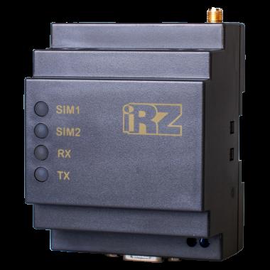GSM-модем ATM21.А работающий в трех режимах: клиент, сервер, CSD передача -  с возможность крепления на DIN-рейку.