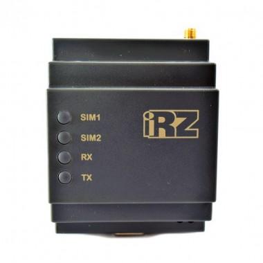 GSM-модем ATM21.В работающий в трех режимах: клиент, сервер, CSD передача -  с возможность крепления на DIN-рейку.