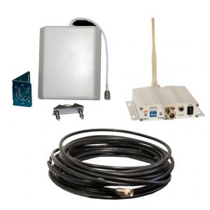 Комплект GSM репитер ICS10F-D 1800