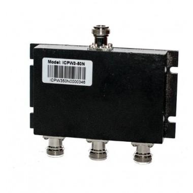 ICSC3-200N - широкодиапазонный делитель мощности на 3 выхода