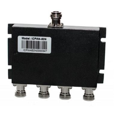 ICSC4-200N - широкодиапазонный делитель мощности на 4 выхода