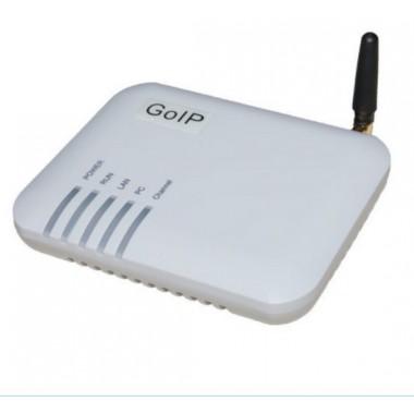 VoIP/GSM шлюз GoIP-1 - одноканальный шлюз. Решение для небольших офисов