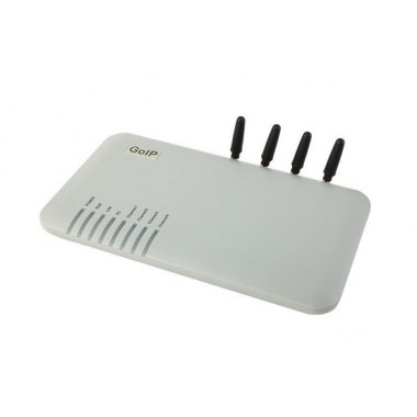 Четырехканальный VoIP/GSM шлюз GoIP4 - решение для среднего бизнеса.