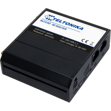 Компактный, экономичный и мощный промышленный маршрутизатор RUT230 для профессионального использования