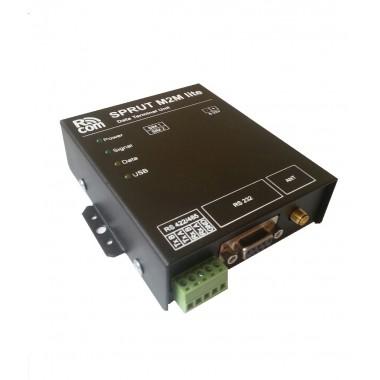 GSM модем SPRUT M2M lite. IP промышленный терминал производства компании РКОМ.