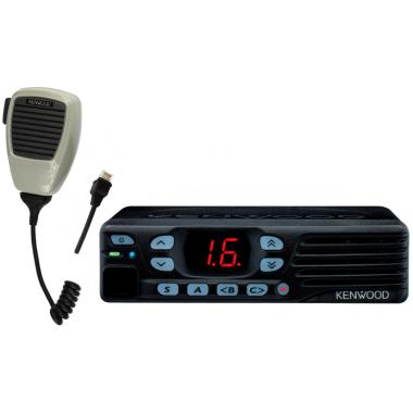 Возимая радиостанция Kenwood TK-7302E / TK-8302E поддерживает работу в системах 5-тональной сигнализации
